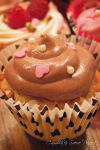 cupcake med sjokolademoussekrem
