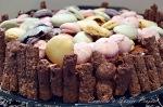 sjokolademarengskake