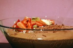 sjokolademousse i bolle