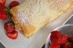 rullekake med jordbær 3