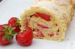 rullekake med jordbær 4