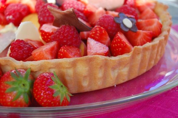 frukt og bær terte Camilla&SverreProject