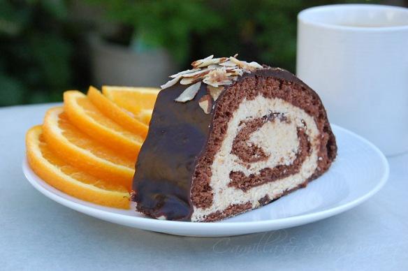 Rullekake med sjokolade og appelsin 3 Camilla&SverreProject