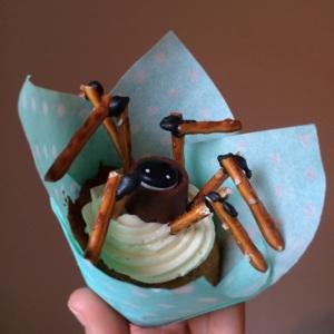 edderkopp muffin spider cupcake camilla&sverreproject